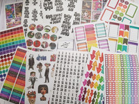 Dyan Reaveley's Dylusions Creative Dyary Sticker Book #2