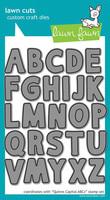 Lawn Fawn - Quinn's Capital ABC's, Stanssisetti