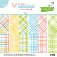 Lawn Fawn - Perfectly Plaid Spring 12