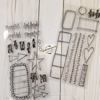 Dylusions - Creative Dyary Stamp Set #2