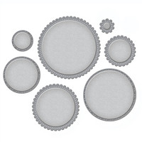 Spellbinders - Stanssisetti, Fancy Edged Circles