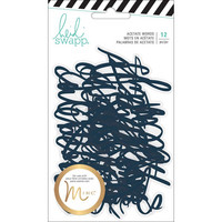 Heidi Swapp -Hawthorne Acetate Words, Minc - Adventure, 12 osaa