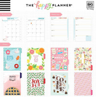 MAMBI - Happy Planner CLASSIC 2018 -2019, Enjoy All the Things, HORIZONTAL