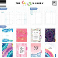 MAMBI - Happy Planner CLASSIC 2018 - 2019, Agate