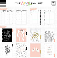 MAMBI - Happy Planner CLASSIC 2018 - 2019, Gold Getter