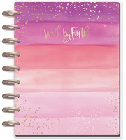 MAMBI - Happy Planner CLASSIC 2018 - 2019, Walk By Faith