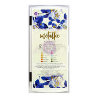 Prima Marketing - Metallic Accents Semi-Watercolor Paint Set