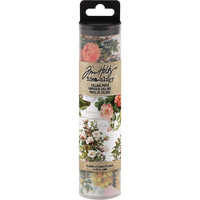 Tim Holtz - Idea-Ology Collage Paper, Floral, 15cm x 5,5m