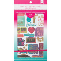 American Crafts - Planner Stickers, Fitness, Tarrasetti