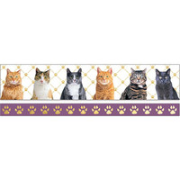 Paper House - Washi Tape, Cats, Teippisetti, 2 rullaa