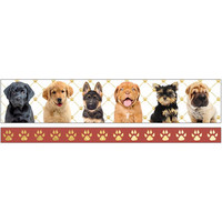 Paper House - Washi Tape, Puppies, Teippisetti, 2 rullaa