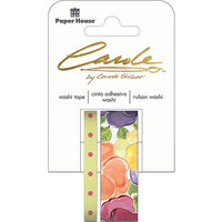 Paper House - Washi Tape, Pansies, Teippisetti, 2 rullaa