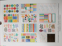 American Crafts - Planner Stickers, Everyday, Tarrasetti