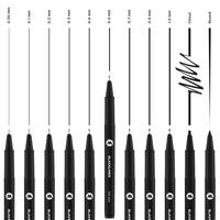 Molotow - Blackliner-kynä, musta