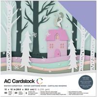 American Crafts - Variety Cardstock Pack 12