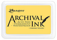 Ranger - Archival Ink leimamustetyyny, Chrome Yellow
