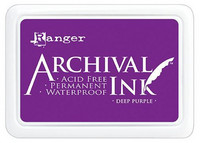Ranger - Archival Ink leimamustetyyny, Deep Purple