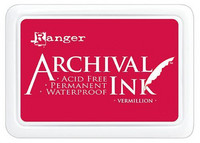Ranger - Archival Ink leimamustetyyny, Vermillion