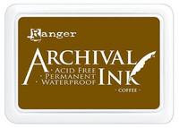 Ranger - Archival Ink leimamustetyyny, Coffee