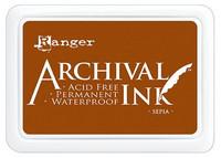 Ranger - Archival Ink leimamustetyyny, Sepia