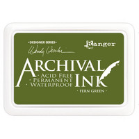 Ranger - Archival Ink leimamustetyyny, Fern Green