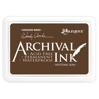 Ranger - Archival Ink leimamustetyyny, Potting Soil