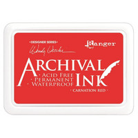 Ranger - Archival Ink leimamustetyyny, Carnation Red