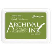 Ranger - Archival Ink leimamustetyyny, Leaf Green