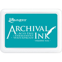 Ranger - Archival Ink leimamustetyyny, Paradise Teal