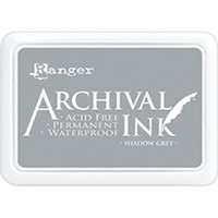 Ranger - Archival Ink leimamustetyyny, Shadow Grey