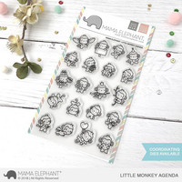 Mama Elephant - LITTLE MONKEY AGENDA, Leimasetti