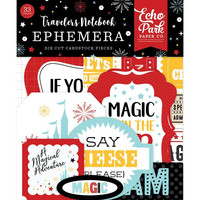 Echo Park - Cardstock Die-Cuts, Leikekuvia, Wish Upon A Star, 33 kpl
