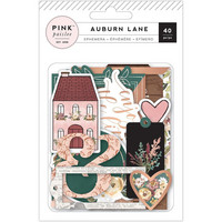 Auburn Lane - Ephemera Cardstock Die-Cuts, Copper Foil, 40 osaa