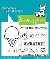 Lawn Fawn - Sweetest Flavor, Leimasetti