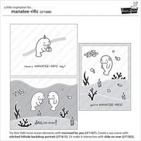 Lawn Fawn - Manatee-Rific, Leimasetti