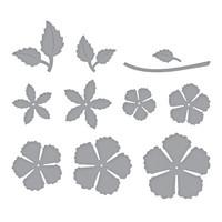 Spellbinders - Stanssisetti, Blooming Rose