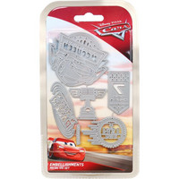 Disney - Cars 3 Die Set, Embellishments