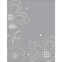 Spellbinders - Cutting Embossing Folders, Floret Cluster