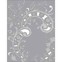 Spellbinders - Cutting Embossing Folders, Baroque Filigree