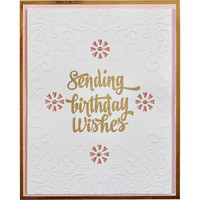 Spellbinders - Cutting Embossing Folders, Botanical Frame