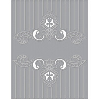 Spellbinders - Cutting Embossing Folders, Regal Swirl