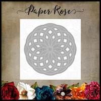 Paper Rose - Circlet Layered Background 3, Stanssi