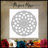 Paper Rose - Circlet Layered Background 2, Stanssi
