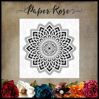 Paper Rose - Layered Mandala, Stanssi
