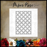 Paper Rose - Quatrefoil Background 2, Stanssi
