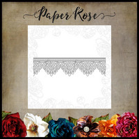 Paper Rose - Madison Lace Edge, Stanssi