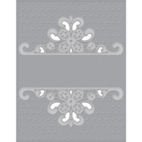 Spellbinders - Cutting Embossing Folders, Dotted Lace