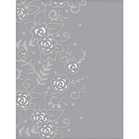 Spellbinders - Cutting Embossing Folders, Flower Garden