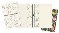 Simple Stories - Carpe Diem Traveler's Notebook, Cream Dot