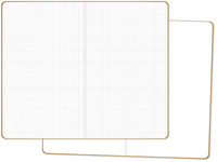 Simple Stories - Carpe Diem Blank/Grid Traveler's Notebook Inserts, 2 kpl